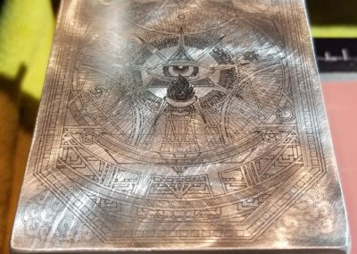 Engraving: Prism in Process