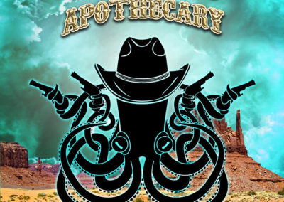 Print: Octopus Apothecary Western