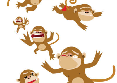 Illustration: Crunch Monkey development