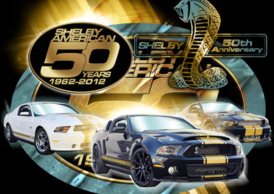 Apparel: Shelby 50th anniversary