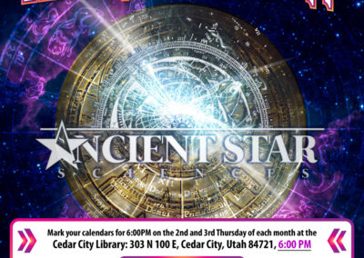 Flyer: Ancient Star Sciences: Astrotheology