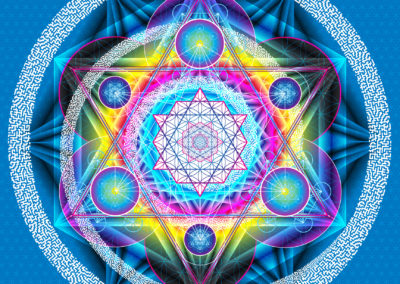Magick: Rainbow Merkabah of Metatron