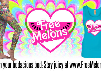 Social Graphic: Free Melons, Facebook booster