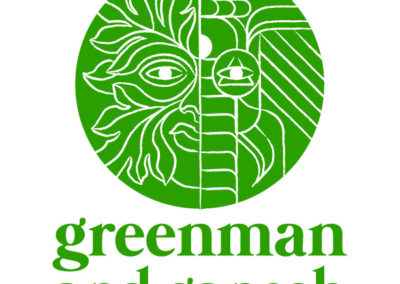 Logo: Greenman and Ganesh