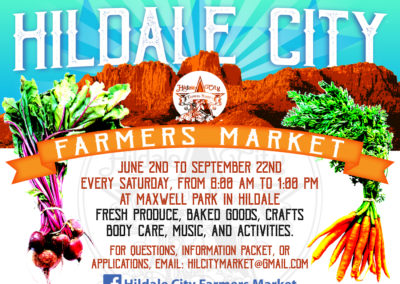 Flyer: Hildale City Farmers Market