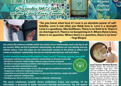 Flyer: Authentic Relationships for IMW