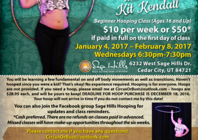 Flyer: Hoop With Kit Kendall