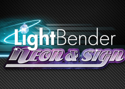 Logo: Light Bender Neon