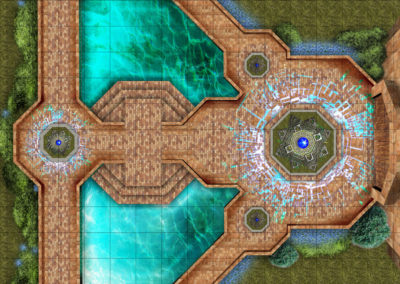 Game Map: Temple Entrance