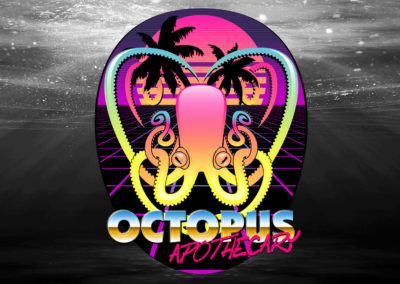 Illustration: Octopus Apothecary, New Retro Wave