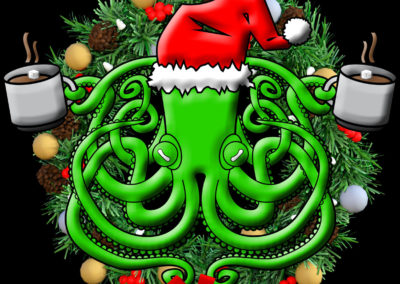 Apparel: Octopus Apothecary Christmas