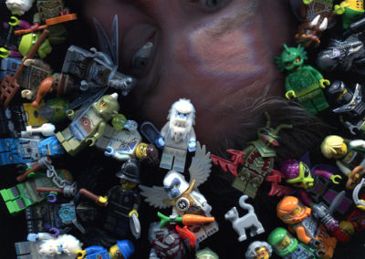 Photo: Non-Gravity Space - Bob & Legos
