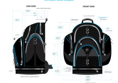 Product Design: Gamer Backpack