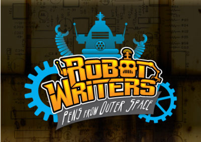 Logo: Robot Writers
