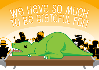 Illustration: Thanksgiving graphic