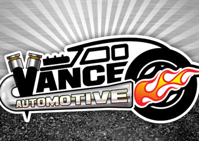 Logo: Vance Automotive on background
